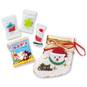 クリスマスお菓子ソックス
