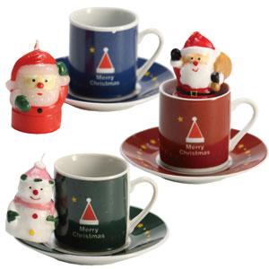 クリスマスキャンドル&ミニカップ