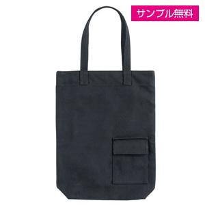 キャンバスエコバッグ(小)(黒)