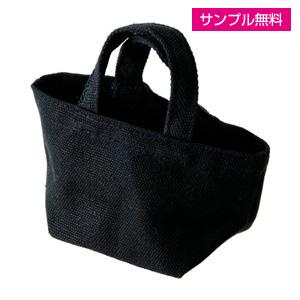 キャンバストート(横型/小)(黒)
