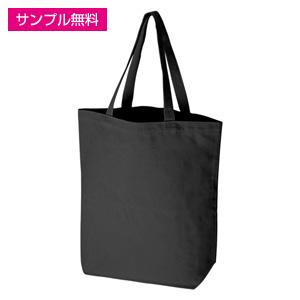 キャンバストート(縦型/大)(黒)