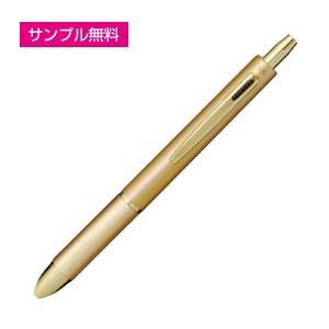 4ファンクションペン(ケース付)(ゴールド)