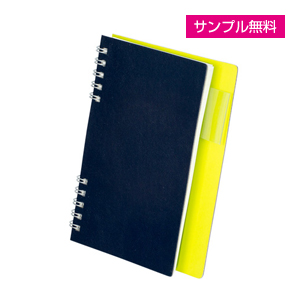 2フェイスリングノートブック(ネイビー)
