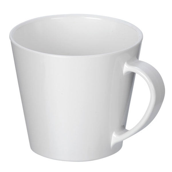 フルカラー対応R-PETマグカップS(250ml)(白)