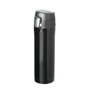 ワンタッチスリムボトル(450ml)(黒)