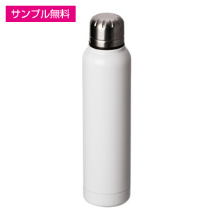 ステンレススリムボトル(350ml)(白)