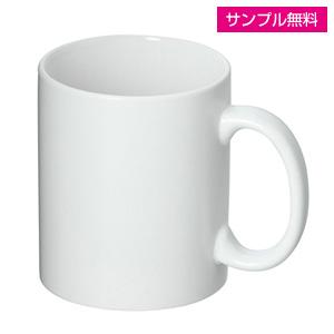 フルカラー転写用マグカップ(マット/350ml)(白)