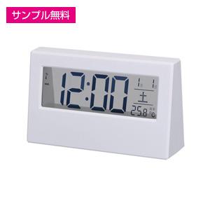 シンプルスタイル電波時計(白)