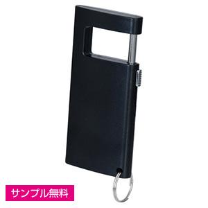 マルチフォンスタンド&キーリング(黒)