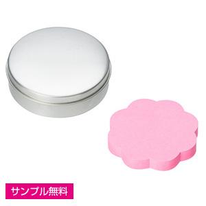 缶入りふせん(花)