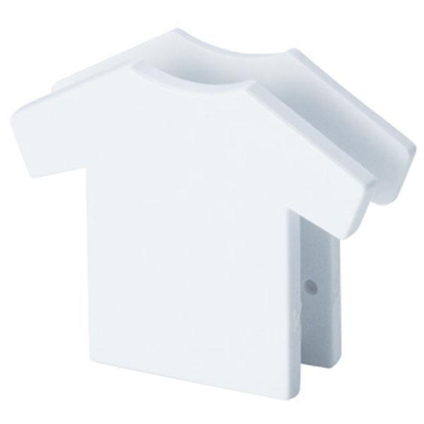 Tシャツ型クリップ(白)