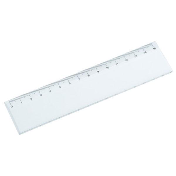 15センチ定規(クリア)