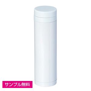 スリムステンレスサーモ(マット)(270ml)(白)