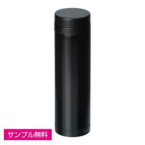 スリムステンレスサーモ(マット)(270ml)(黒)