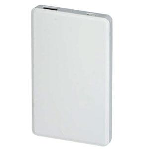 シンプルモバイルバッテリーチャージャー4,000mAh(白)