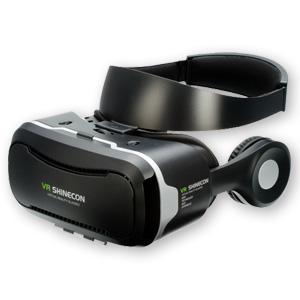 VRヘッドセット(ヘッドフォン付)