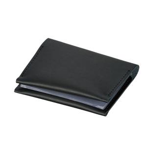 本革カードケース(黒)