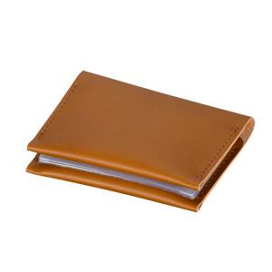 本革カードケース(ブラウン)