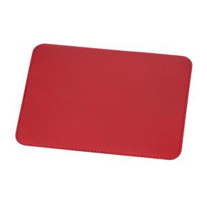 本革マウスパッド(赤)
