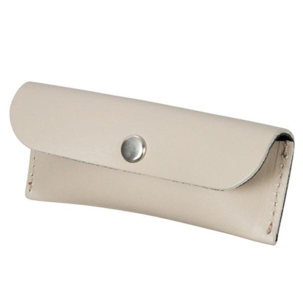 本革印鑑ケース(グレージュ)