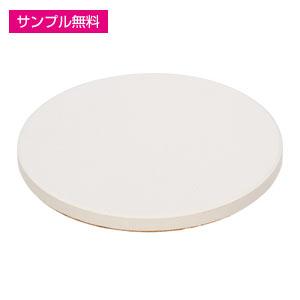 白雲石コースター(丸型)(白)