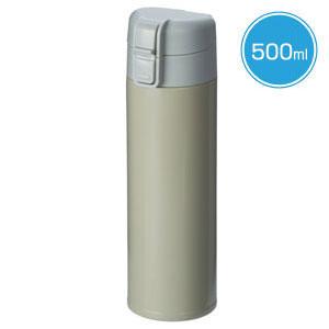 ワンタッチスリムボトル(500ml)(モス)