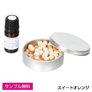 ヒノキポマンダー(缶入り)(スイートオレンジ)