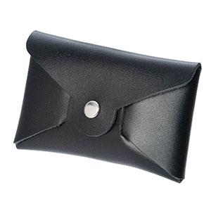 本革名刺&カードケース(黒)