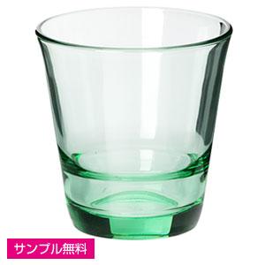 スタッキンググラス(210ml)(リーフグリーン)
