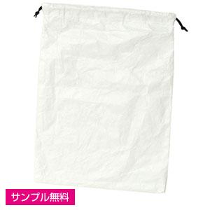 巾着L(タイベック製)(白)