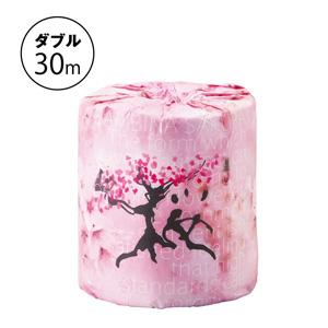桜プリントロール