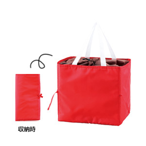 セルトナ・コンパクトショッピングクールバッグ(レッド)