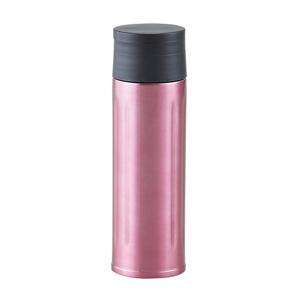 セルトナ・ステンレス真空ボトル(氷ストッパー付き)(ピンク)