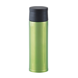 セルトナ・ステンレス真空ボトル(氷ストッパー付き)(グリーン)