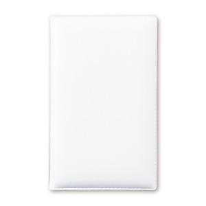 ハードカバーメモ付箋(ホワイト)
