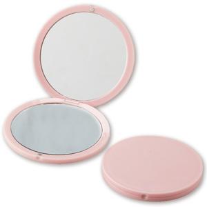 コンパクトラウンドミラー(ピンク)