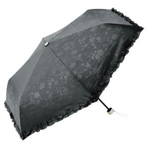 ボタニカルレース・晴雨兼用折りたたみ傘
