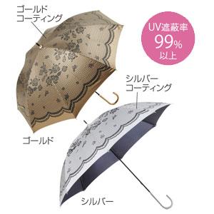 ブライトローズ・晴雨兼用長傘