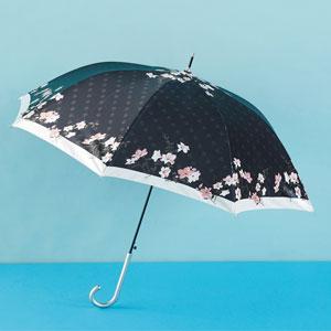 スプリム・サテンフラワージャンプ傘