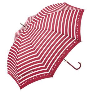 スキップキャット耐風ジャンプ傘(レッド)