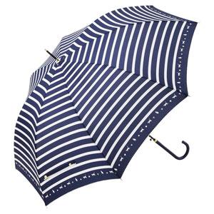 スキップキャット耐風ジャンプ傘(ネイビー)