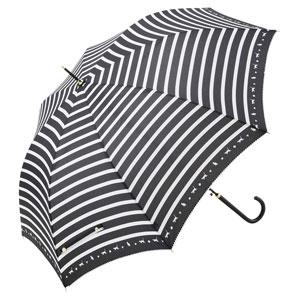スキップキャット耐風ジャンプ傘(ブラック)