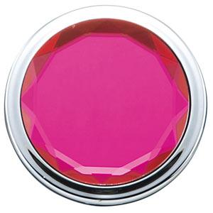 コンパクトカラージュエルミラー(ピンク)