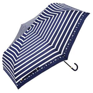 スキップキャット耐風折りたたみ傘(ネイビー)