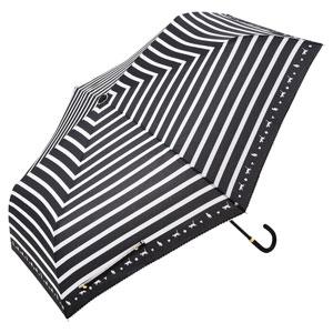 スキップキャット耐風折りたたみ傘(ブラック)
