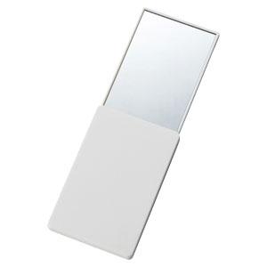 スライドカード型ミラー(ホワイト)