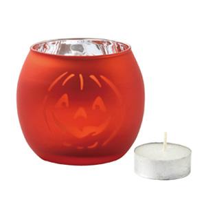 ハロウィン キャンドルグラス(キャンドル付き)