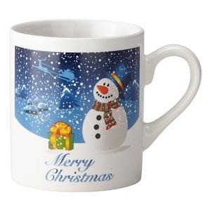 クリスマス 雪だるまマグ