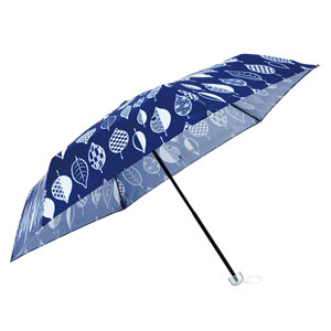 京都くろちく・ひとひら晴雨兼用折りたたみ傘