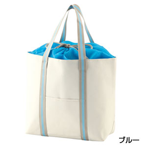 セルトナ・巾着デイリークーラーバッグ(ブルー)